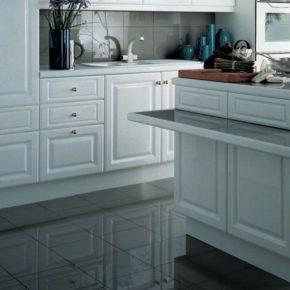 Напольная плитка для кухни - фото (92)