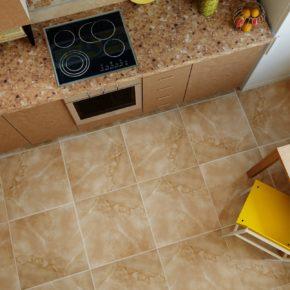 Напольная плитка для кухни - фото (97)