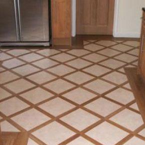 Напольная плитка для кухни - фото (99)