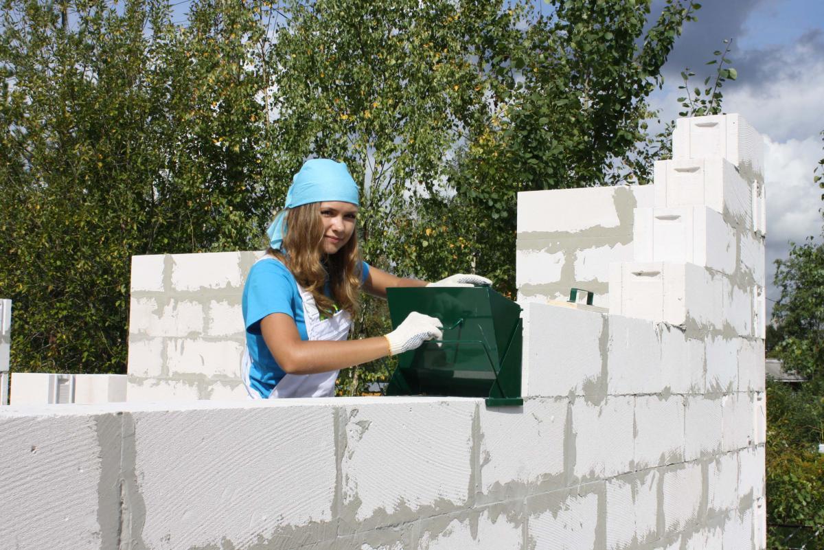Строительство домов своими руками из газобетона