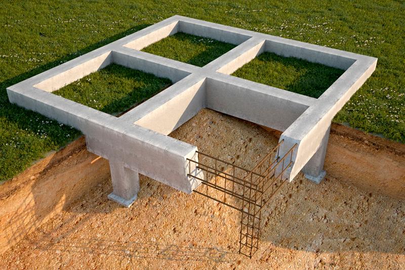 Как сделать ленточный фундамент для дома