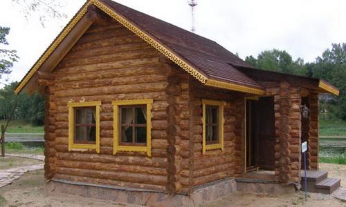 Как построить дом из бревна